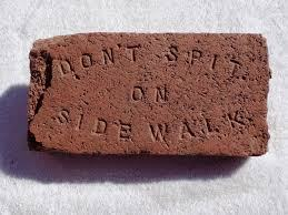 Image result for spitting on the sidewalk